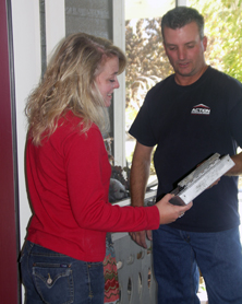 Action Garage Door's service is fast, friendly and thorough.